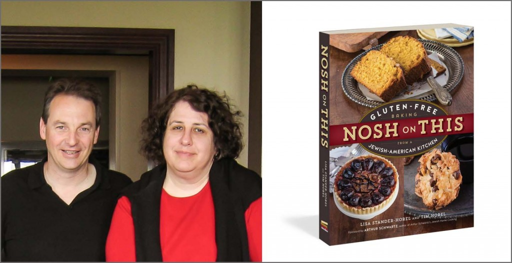 Tim Horel and Lisa Stander-Horel, the authors of Nosh on This
