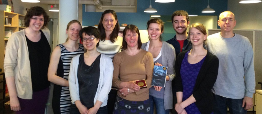 Kathleen Jamie and (most of!) The Experiment team